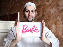 Logotipo de Barbie fotos de stock royalty free