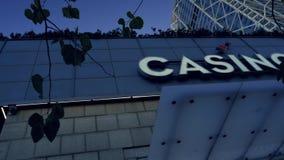Logotipo de Barcelona del casino metrajes