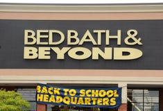 Logotipo de Bed Bath & Beyond imagens de stock royalty free