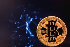 Logotipo de Bitcoin fotografia de stock