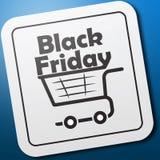 Logotipo de Black Friday del icono stock de ilustración