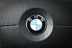 Logotipo de BMW fotos de stock royalty free