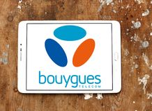Logotipo de Bouygues Telecom Imagen de archivo