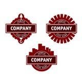 Logotipo para uma empresa de construção civil Foto de Stock