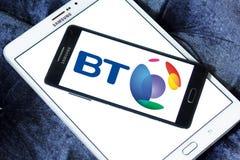 Logotipo de BT Group Fotografía de archivo libre de regalías