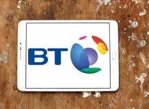 Logotipo de BT Group Imágenes de archivo libres de regalías