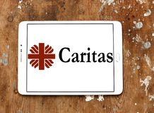 Logotipo de Caritas Internationalis Fotografía de archivo