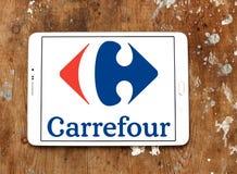Logotipo de Carrefour Fotografia de Stock