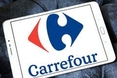 Logotipo de Carrefour Imagem de Stock Royalty Free