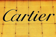 Logotipo de Cartier Fotos de Stock Royalty Free