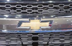 Logotipo de Chevrolet en el tope imagen de archivo libre de regalías