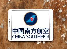 Logotipo de China Southern Airlines imagem de stock royalty free
