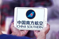 Logotipo de China Southern Airlines foto de stock