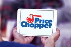 Logotipo de Chopper Supermarkets do preço imagens de stock royalty free