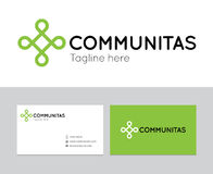 Logotipo de Communitas Foto de Stock