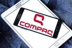 Logotipo de Compaq imagens de stock royalty free