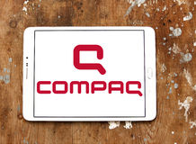 Logotipo de Compaq fotografia de stock royalty free