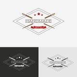 Logotipo de costura Imagen de archivo libre de regalías