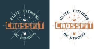 Logotipo de Crossfit fotos de stock