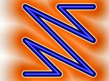 Logotipo de destello Fotos de archivo libres de regalías