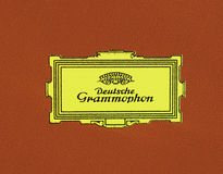 Logotipo de Deutsche Grammophon Fotografia de Stock