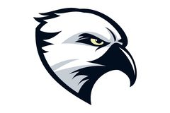 Logotipo de Eagle Fotografia de Stock Royalty Free