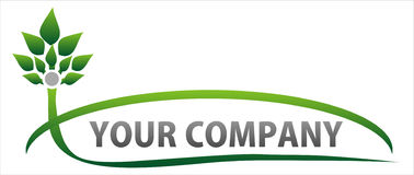 Logotipo de Eco_nature Fotos de Stock