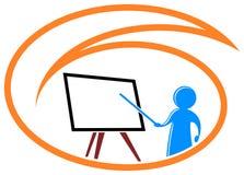 Logotipo de ensino Imagem de Stock