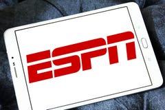 Logotipo de Espn imagens de stock royalty free