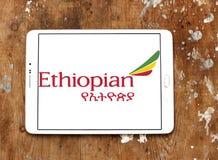 Logotipo de Ethiopian Airlines imagens de stock royalty free