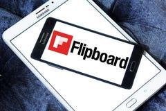 Logotipo de Flipboard fotografía de archivo libre de regalías