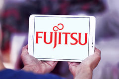 Logotipo de Fujitsu foto de stock royalty free