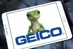 Logotipo de GEICO Insurance Company Foto de archivo libre de regalías