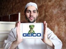 Logotipo de GEICO Insurance Company Imagenes de archivo