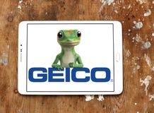 Logotipo de GEICO Insurance Company Fotos de archivo libres de regalías