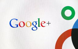 Logotipo de Google+ Imagem de Stock Royalty Free