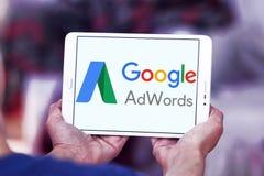 Logotipo de Google AdWords Imagen de archivo libre de regalías