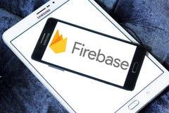 Logotipo de Google del Firebase fotos de archivo libres de regalías
