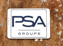 Logotipo de Groupe PSA Imagem de Stock Royalty Free