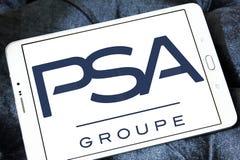 Logotipo de Groupe PSA Imagens de Stock