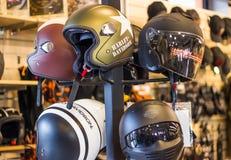 Logotipo de Harley Davidson Bar y del escudo imagenes de archivo