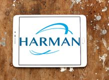 Logotipo de Harman International Industries Fotografía de archivo