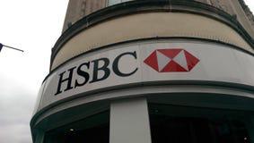 Logotipo de HSBC Fotografia de Stock Royalty Free
