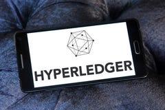 Logotipo de Hyperledger foto de archivo libre de regalías