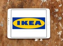 Logotipo de Ikea Fotografia de Stock Royalty Free