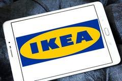 Logotipo de Ikea Fotografia de Stock