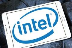 Logotipo de Intel fotografía de archivo