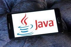 Logotipo de Java fotografía de archivo