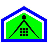 Logotipo de la élite de la propiedad Foto de archivo