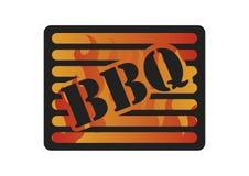 Logotipo de la barbacoa Imagen de archivo